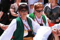 Zahvalnica i nagrada Općine Primošten za Lorentu Fuštin, crkveni zbor i Antu Furčića
