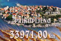 Primošten prikupio za Slavoniju 33971,00 KN