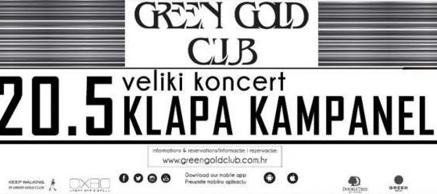 Klapa Kampanel – LIVE IN GREEN GOLD CLUB