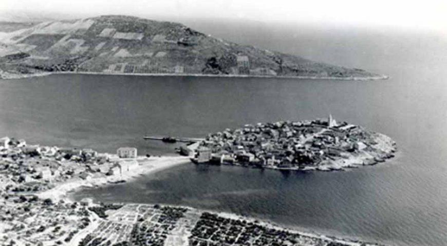 Primošten negdje 1953. godine