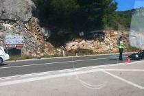 Jedna osoba ozlijeđena u slijetanju vozila kod marine Kremik