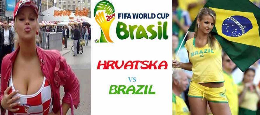 Ususret utakmici Brazil – Hrvatska usijanje je na vrhuncu