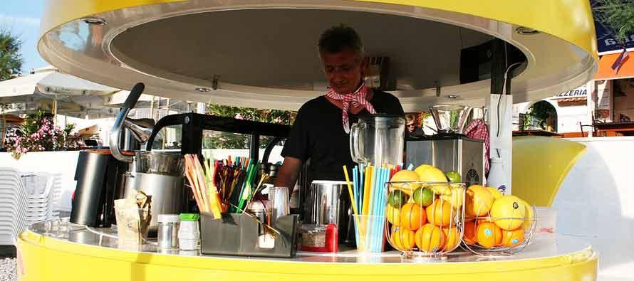 Nova turistička ponuda na plaži Mala Raduča – FRUIT BAR