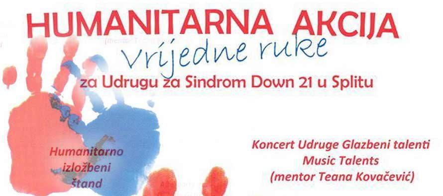 Dođite večeras na Rudinu i budite dio humanitarne akcije VRIJEDNE RUKE