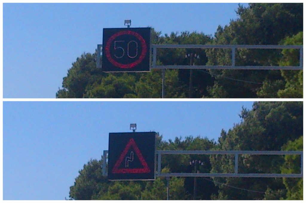 prometni znak primošten