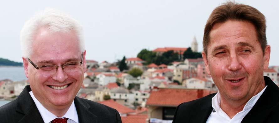 Predsjednik Josipović na proslavi 60. obljetnice DVD-a Primošten