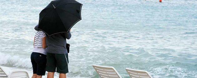 Jugo, mjestimična kiša …