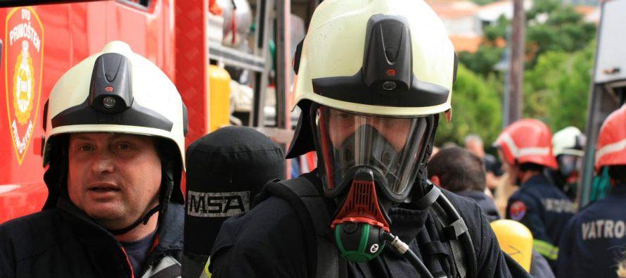Požar u Bilome: Gori trava i nisko raslinje