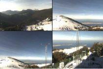 Pao prvi snijeg u planinama, u Dalmaciji orkanski udari bure i grmljavinsko nevrijeme