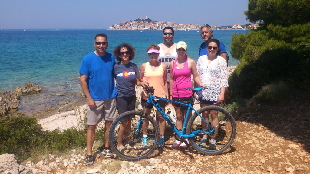 bike trip, family, guide, primosten, service