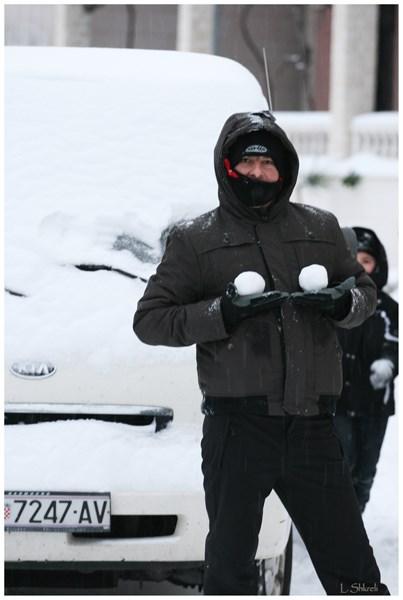 Snijeg u Primoštenu