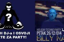 NAGRADNA IGRA  – Primošten Plus poklanja karte za party u Aurori 26.12. – DJ BILLY NASTY