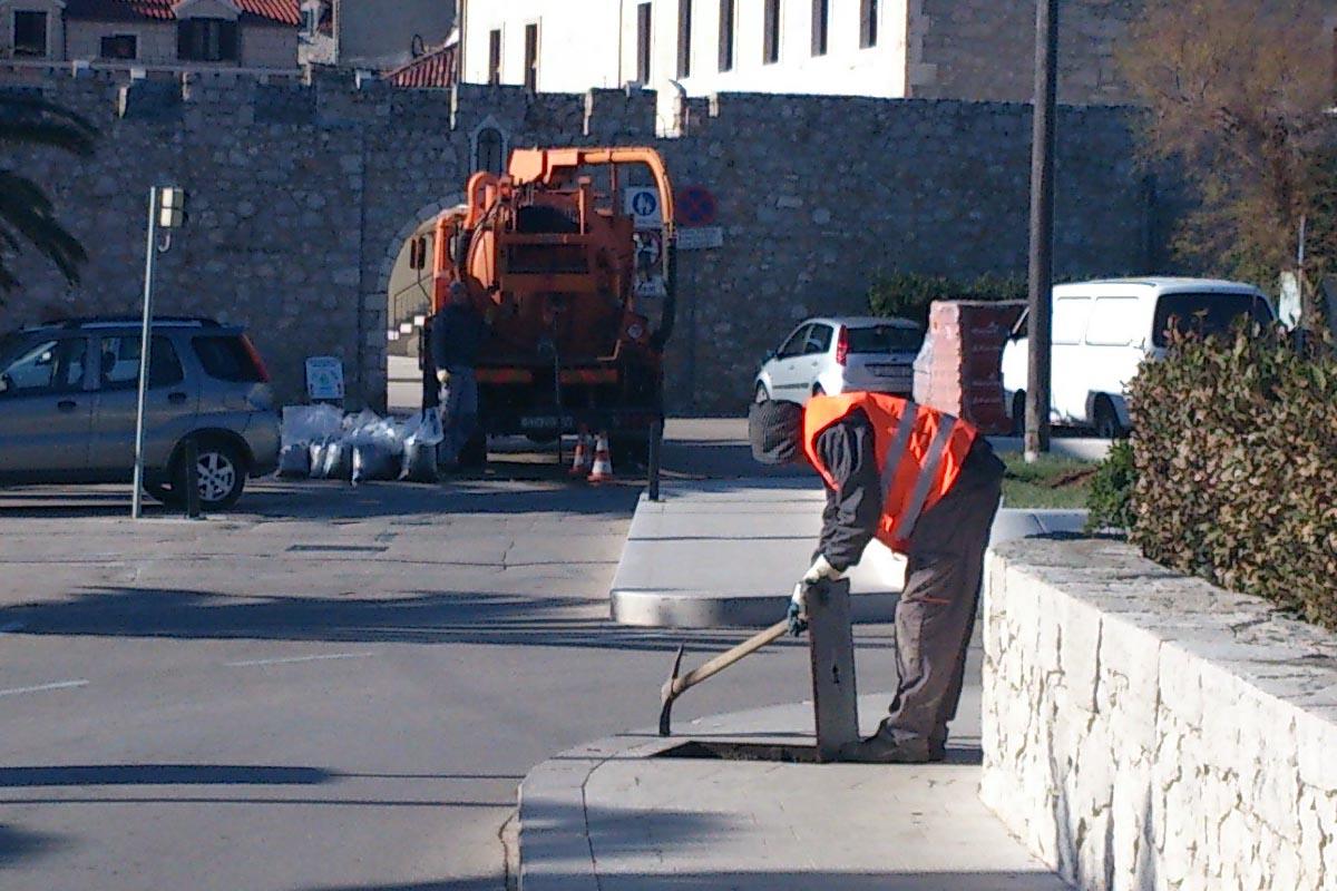 čišćenje kanalizacije u primoštenu