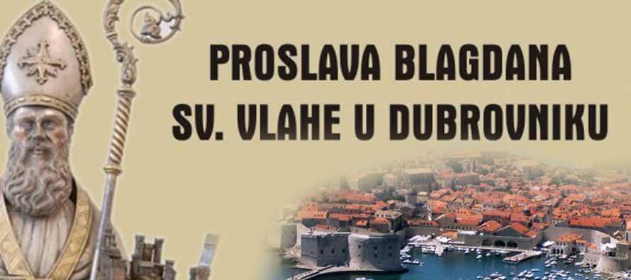 PROSLAVA BLAGDANA SV. VLAHE U DUBROVNIKU