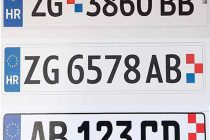 Tri prijedloga za izgled nove hrvatske registarske tablice