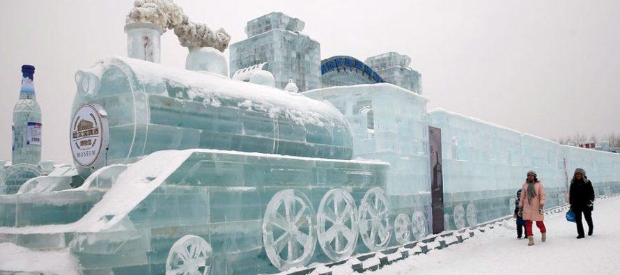 To mogu samo Kinezi – Spektakularne ledene skulpture
