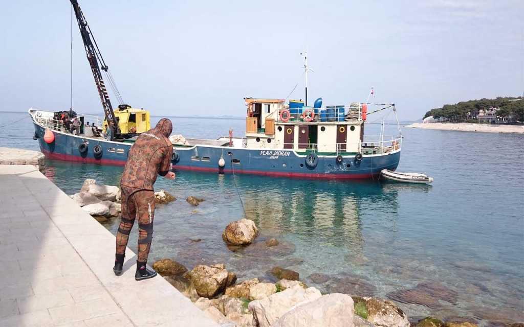 brod dizalica