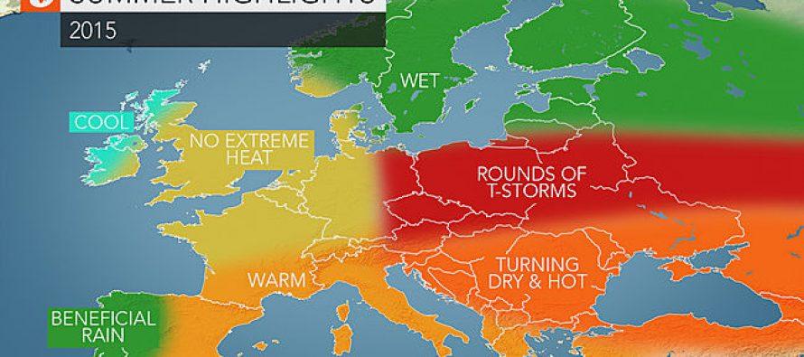 Čeka nas vruće i vrlo sušno ljeto ?