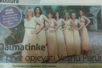 Klapa Dalmatinke na 19. Međunarodnom festivalu klapa u Perastu – Crna Gora