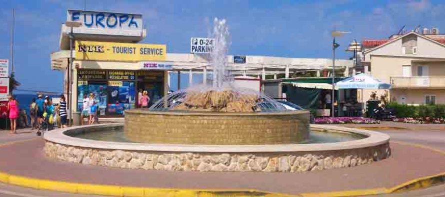 VIDEO/FOTO Ante & Ante skockali fontanu