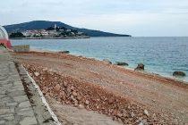 FOTO: Počeli su radovi na punti poluotoka Raduča