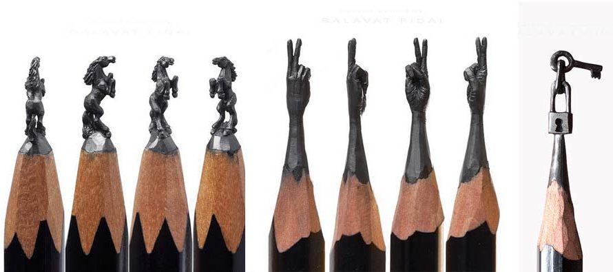 ZANIMLJIVOSTI: Fenomenalne mini skulpture na vrhu olovke
