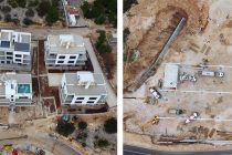 FOTO IZ ZRAKA: Gradilišta u Primoštenu – Nove vile i trgovački centar Tommy