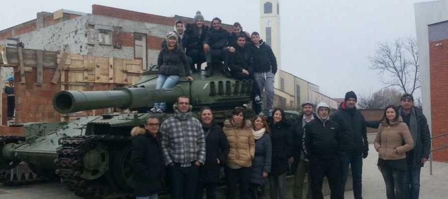 Glazbari u Vukovaru
