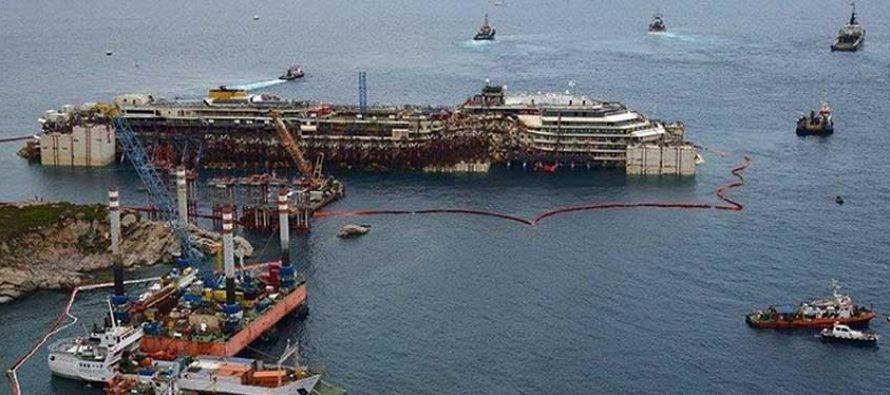FOTO Costa Concordia nakon 2 godine u moru