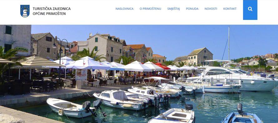 Web stranice Turističke zajednice Primošten dobile novi izgled
