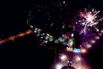 Prvi put iz ove perspektive: Vatromet snimljen iz zraka