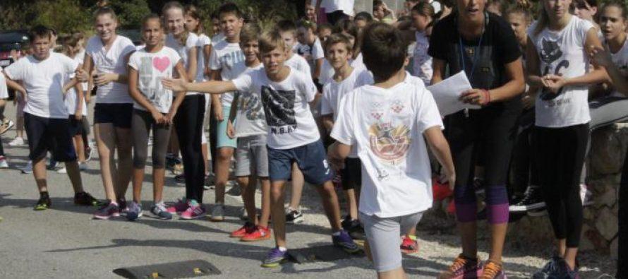 U OŠ Primošten obilježen Hrvatski olimpijski dan