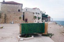 JUGO ĆE, KAŽU: Oleandar spriječio štand da ne zapliva u moru