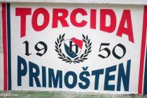 """FOTO: Torcida Primošten """"osvježila"""" stari grafit iz 2008. godine"""