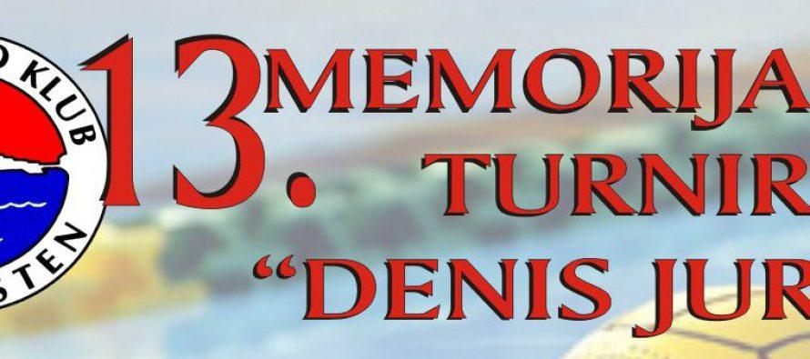 "13. Memorijalni turnir u vaterpolu ""Denis Jurin"""