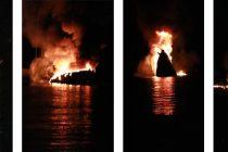 Policija istražuje uzrok požara na njemačkoj jahti: Posada gumenjakom uspjela pobjeći od vatre
