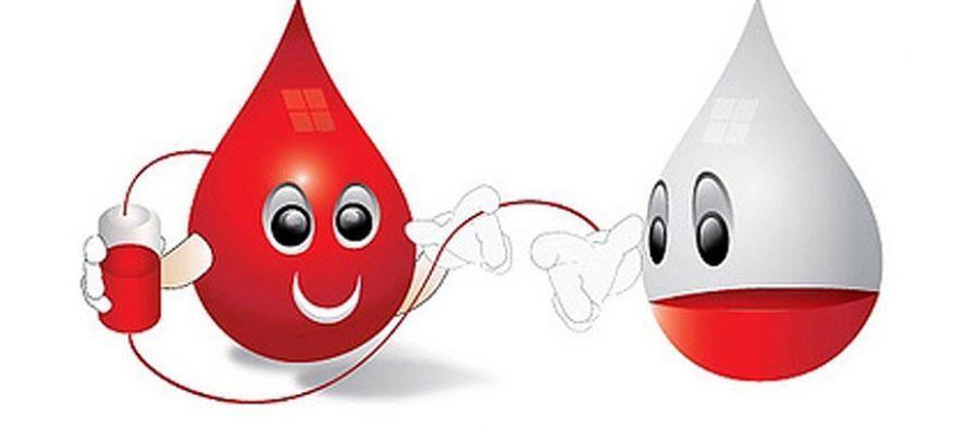 Raspored darivanja krvi u našoj županiji u kolovozu 2019.