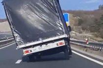 Bura digla kamion na dva kola