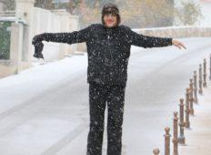 Snijeg u Primoštenu 26.02.2018.