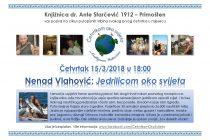 """Kako sam sagradio jedrilicu i oplovio svijet: Nenad Vlahović – gost tribine """"Četvrtkom oko svijeta"""""""