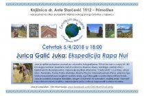 """Putopisac i fotograf Jurica Galić Juka zatvara uspješan ciklus putopisnih tribina """"Četvrtkom oko svijeta"""""""