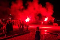 VIDEO – Fešta nakon utakmice