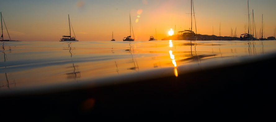 Foto by Ivan Huljev: Čarolija zalaska sunca u Primoštenu