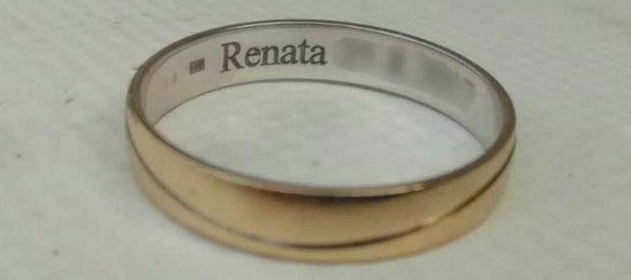 Renata, imamo tvoj prsten !