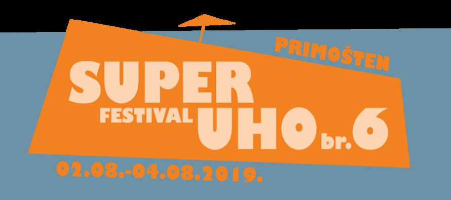6. SuperUho Festival ovo ljeto će se održati u Primoštenu od 2. do 4. kolovoza