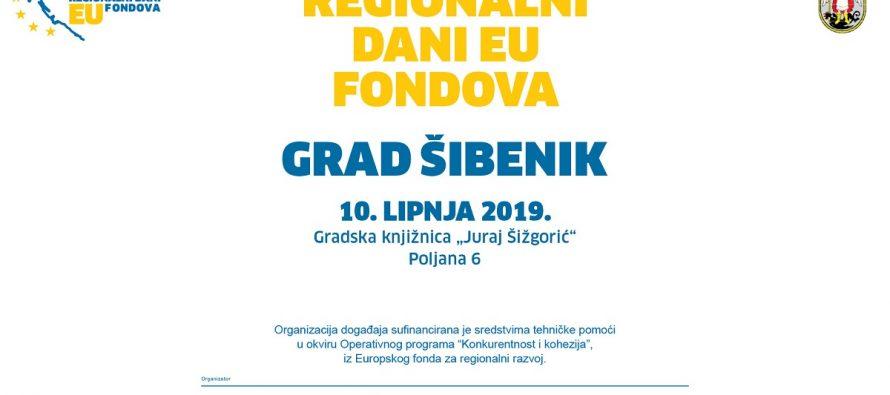 """""""Regionalni dani EU fondova"""" održat će se u Šibeniku"""