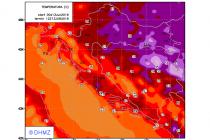 Vrhunac prvog ovogodišnjeg toplinskog vala dolazi za vikend!