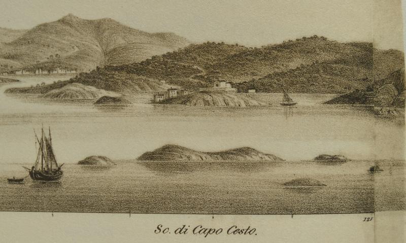 Panorama s prikazom Primoštena