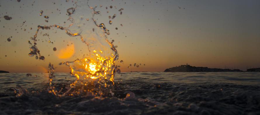 FOTO: Zalazak sunca iz jedno sasvim drugačije perspektive