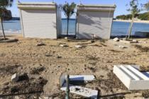 Veliko nevrijeme u Primoštenu prebacilo plaže na ulice